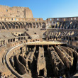 Stock Photo: In side Coloseum