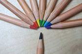 Colour pencil — Stock Photo
