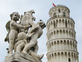 Leaning tower Pisa — Stock Photo