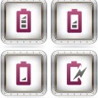 Display Phone Icons - Stock Vector
