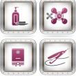 Bathroom Appliances - Stock Vector