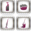 Cleaning Appliances - Stock Vector
