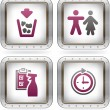 Camping Icons — Stock Vector #7092853
