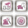 Hotel Related Icons — Stock Vector #7103892