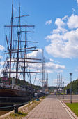 Harbor of Turku — Stock Photo