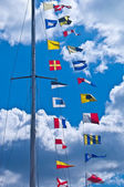 Different flags — Stock Photo