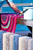 Carpet washing — Stock Photo