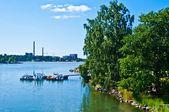 пирс в хельсинки — Стоковое фото