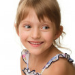 Portrait of a cute little girl — Stock Photo #6768222