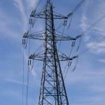 High voltage power line — Stock Photo #6749759