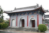 Ingang van de tempel van het witte paard — Stockfoto