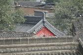 Altstadt von Xian, Blick über die Dächer — Stock Photo