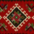 Handwoven kilim pattern - Stock Photo