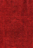 Red woolen webbing — Stock Photo