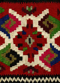 Handwoven kilim pattern — Stock Photo