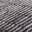 Asbestos roof — Stock Photo