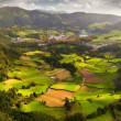 View to the Furnas city and valley — Stock Photo