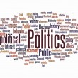 Politic text cloud — Stock Photo #7669033