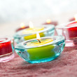 Close-up of candles - Stockfoto