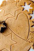 Gingerbread dough — Stock Photo