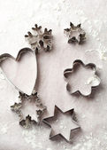 Gingerbread cutters — Stock Photo