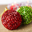 Christmas baubles - Foto de Stock