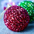 Christmas baubles — Stock Photo #7327530