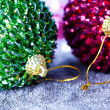 Christmas baubles - Foto Stock