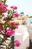 Perissa, Santorini, Greece — 图库照片