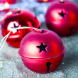 Christmas baubles — Stock Photo #7457878