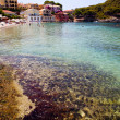 Assos village, Kefalonia, Greece — Stock Photo