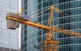 The lifting crane — Foto de Stock