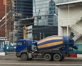 Concrete truck — Stock Photo