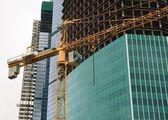 Hoisting crane — Zdjęcie stockowe
