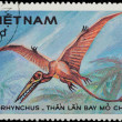 VIETNAM - CIRCA 1984: stamp - prehistoric animal — Stock Photo