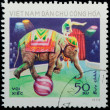 VIETNAM - CIRC1973: stamp - animal elephant — Stock Photo #6920923