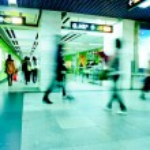 Business passenger walk — Stock Photo #6926394