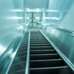 Moving escalator — Stock Photo #6927697