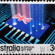 AUSTRALIA stamp shows — Stock Photo #6929207