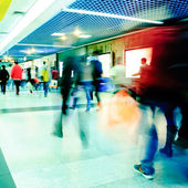 Business yolcu yürüyüş — Stok fotoğraf