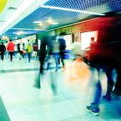 Business passenger walk — Stock Photo
