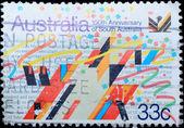 Sello de australia muestra 150 aniversario de australia del sur — Foto de Stock