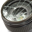 Broken camerlens — Stock Photo #7107227