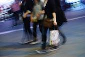 Andar na rua — Foto Stock