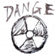 Danger nuclear energy - Stock Photo