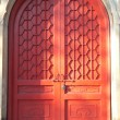 Stock Photo: Chinese ancient architecture door