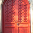 Chinese ancient architecture door — Stock Photo