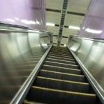 Moving escalator — Stock Photo #7304347