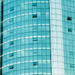 Modern office building window — Stock Photo