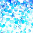 Blue silica gel desiccant — Stock Photo